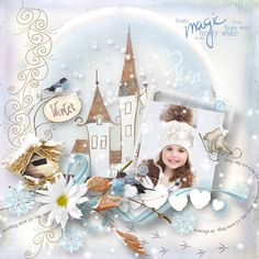 """Winter Is Comming to Town"" by MiSi Scrap"