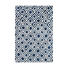 With contemporary shades and compelling patterns, this rug offers a modern addition to any room. Striking geometric figures are repeated throughout the design to create fluidity and motion.  Find the Wavy Rug, as seen in the The Bohemian Minimalist Collection at http://dotandbo.com/collections/the-bohemian-minimalist?utm_source=pinterest&utm_medium=organic&db_sku=LOI0029-23