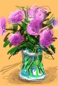 David Hockney, le pixel, l'iPad et le pinceau