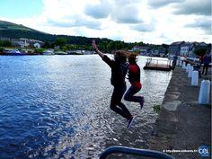 Séjour linguistique en Irlande avec le CEI #Irlande #Ireland #Europe #CEI #voyage #travel #colonie #sejourlinguistique #holiday #water #happiness #jump #fun