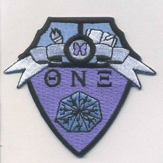 """3"""" Embroidered Shield Patch"""
