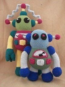 Rockin Robots Croche
