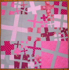 Modern Crosses quilt by Elmosmate
