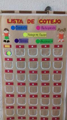 Lista de Cotejo para Maestros is part of School decorations - Class Decoration, School Decorations, Classroom Language, Spanish Classroom, Kids Education, Teaching English, Classroom Management, Classroom Decor, Preschool Activities