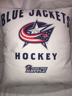 A personal favorite from my Etsy shop https://www.etsy.com/listing/450366908/columbus-ohio-hockey-t-shirt-pillow