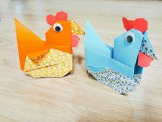 Chicken hen origami