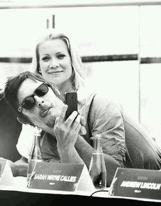 Laurie Holden and Norman Reedus