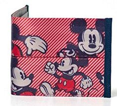Harveys x Mickey Boyfriend Wallet Disney Mickey Mouse