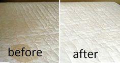 Mudar os lençóis não chega para ter a sua cama limpa e sem odores. É preciso limpar o colchão de vez em quando, um colchão sujo pode impedir que o corpo relaxe durante a noite. Quando possível deve colocar o colchão a arejar e mudar os lençóis com frequência. Se o colchão tiver manchas, temos o produto caseiro ideal e super eficaz para remover essas manchas e livre de odores.
