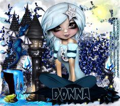 MI RINCÓN GÓTICO: Trabajo para Donna Hook con sus tubes commission de Alicia Mujica