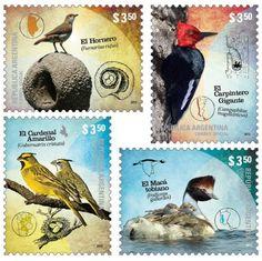 argentina estampillas 2012 - Buscar con Google Bird Cards, Postage Stamps, South America, Vivid Colors, Decoupage, Birds, Culture, History, World