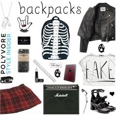School of Rock by deepwinter on Polyvore featuring Acne Studios, INDIE HAIR, McQ by Alexander McQueen, Comeco, Balenciaga, Dsquared2, Casetify, Manic Panic NYC, Paper Mate and Michael Aram