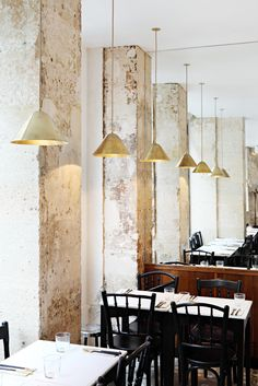 MG Road Indian Restaurant in Paris *  Photography by Yann Deret for MG Road * Source : remodelista.com