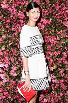 Giovanna Battaglia in Chanel