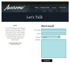 http://designrfix.com/web-design/examples-html-contact-forms-web-design