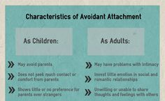 7 Things You Should Know About Attachment Parenting: Avoidant Attachment