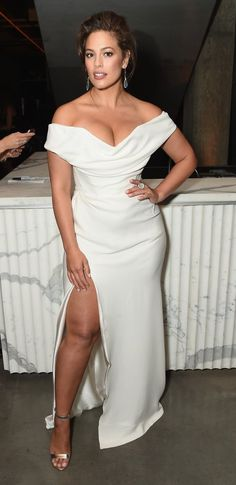 Ashley Graham attends the #BoF500 party during New York Fashion Week. #bestdressed
