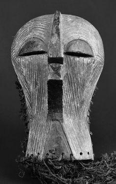 Masque Songye Mask Kifwebe Afrika ART Africain Congo Tribal Kongo Maske | eBay