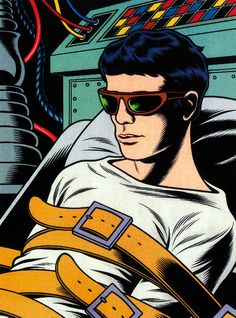 Summer, 1959: Lou Reed begins electroshock treatments Illustration by: Charles Burns