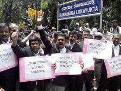 ಲೋಕಾ ಕಚೇರಿಗೆ ಮುತ್ತಿಗೆ ಹಾಕಲು ವಕೀಲರ ಯತ್ನ #karnataka
