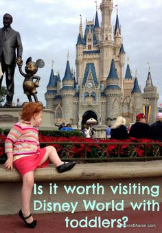 My experience visiting Disney world with young kids http://www.wheressharon.com/family-trip-usa-caribbean/road-trip-usa/visiting-disney-world-with-toddlers/ #DisneyWorld #FamilyTravel #Kids
