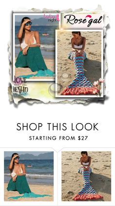 """Beach Blanket"" by velidafashion ❤ liked on Polyvore"