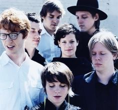 Arcade Fire-- been so addicted to their music lately.