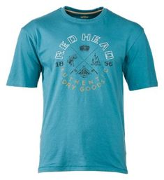RedHead Vintage Outdoors Collection Campers T-Shirt for Men - Cascade - XL