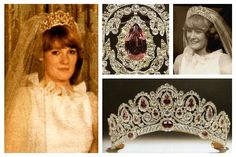 THE WESTMINSTER BAGRATION TIARA~The Bagrations were the rulers of the kingdom of Georgia for centuries until the country was annexed by the Russian Empire in 1801. This tiara was made for Princess Catherine Bagration, an incredibly independent and influential woman who garnered a mention in Victor Hugo's Les Miserables. In the 1970s, the tiara was sold at auction to the Duke of Westminster who later presented it to his bride Natalia Philips, a direct descendent of Nikolay I of and poet…