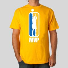 MVP T-Shirt in Gold