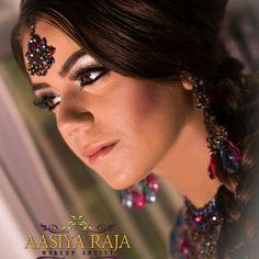 Mehndi makeup WWW.AASIYARAJA.COM