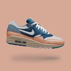 Nike Sneakers, Air Max Sneakers, Air Max 1, Nike Air Max, Nike Shoes Outlet, Tie Knots, Stylish Men, Men's Clothing, Dapper