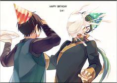 Art by noritamako on pixiv || Jae-ha's birthday -- lol Hak would tbh