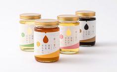 国産蜂蜜 パッケージデザイン