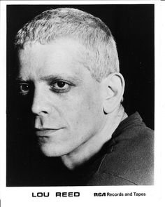 Lou Reed / Born: Lewis Alan Reed, March 2, 1942 in Freeport, New York, USA #actor