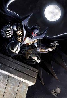 Batman-Azrael COLORED by Mykemanila.deviantart.com on @deviantART