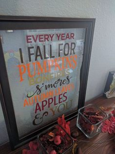 Fall Frame by ColoCustomCreations on Etsy