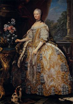 Artist Charles-André van Loo (1705–1765) Title Portrait of Marie Leszczynska Description Queen of France Date circa 1748 Medium oil on canvas Dimensions Height: 224 cm (88.2 in). Width: 152 cm (59.8 in). Current location (Inventory)Pitti Palace