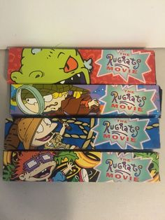 Nickelodeon Rugrats Movie Watches Burger King 1993 Complete New | eBay