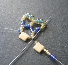 Tila Bead Chevron Chain ~ Seed Bead Tutorials