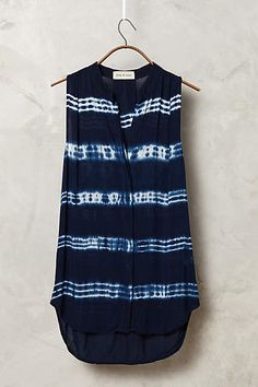 Katrina Sleeveless Buttondown - anthropologie.com