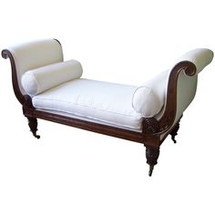 1810 American Baltimore Window Bench | From a unique collection of antique and modern benches at https://www.1stdibs.com/furniture/seating/benches/