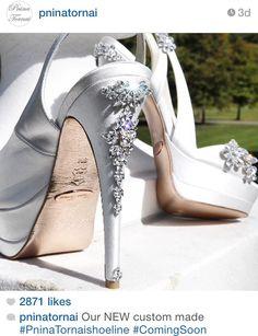 The new 2015 custom made Pnina Tornai shoe collection.