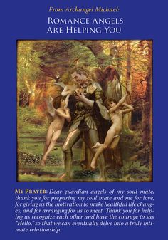 Oracle Card Romance Angels Are Helping You | Doreen Virtue | official Angel Therapy Web site