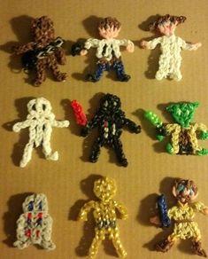 Trendy Crochet Bracelet For Boys Rainbow Loom Ideas Loom Bands Designs, Loom Band Patterns, Rainbow Loom Patterns, Rainbow Loom Creations, Rainbow Loom Bands, Rainbow Loom Charms, Rainbow Loom Bracelets, Loom Animals, Crochet Mandala Pattern