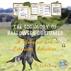 Sociology of Halloween Costumes There is no better holiday than Halloween for a sociology class. The costumes alone provide a perfect opportunity to analyze gender socialization, sexism, racism, cultural bias, and social psychology. What Is Sociology, Sociology Class, Social Studies Classroom, Social Studies Resources, Tools For Teaching, Teaching Resources, Middle School Ela, High School, Halloween Costumes For Teens
