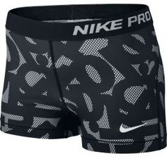 Nike Womens Pro Core 3 Printed Compression Shorts