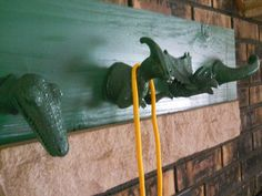 Dinosaur Wall Decor Coat Hanger Or Room by EvangelinasCloset
