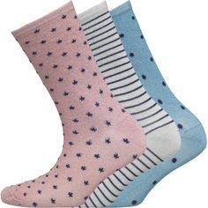 Pack of 3 Ankle Socks, £4, M&M