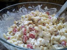 Not Quite The Farmer's Daughter: Dilly Bacon Pasta Salad